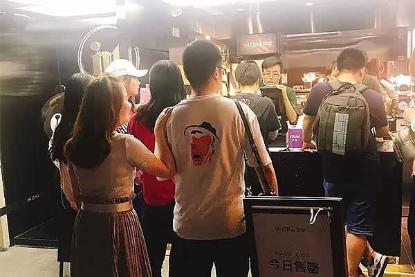 如何投资网红INCHA印茶奶茶店?